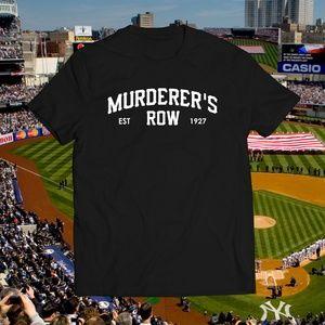 Yankees Murderers Row Black Baseball Tee